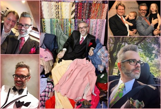 Fashionista of the Month  Michael Pearce