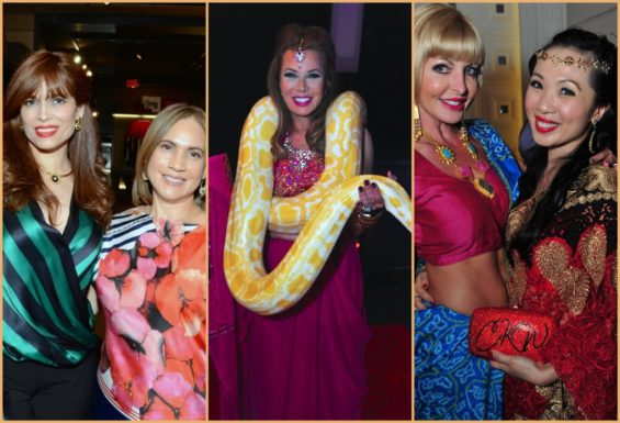 Shopping Soiree and Bollywood Blitz Benefit - Snake Charmers and Surprise Proposal!