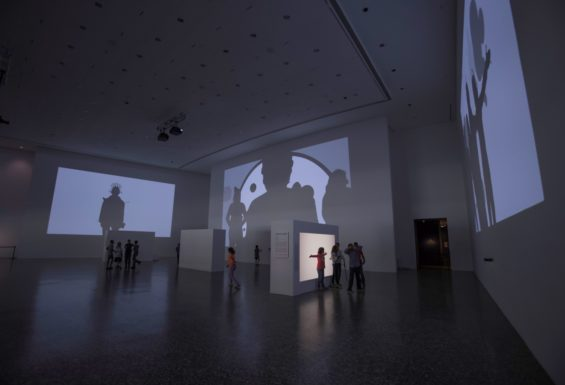 Shadow monsters and furry fiends come out to play at the Museum of Fine Arts Houston