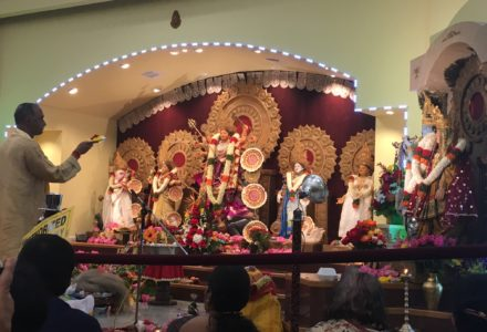 Rain or Shine! Houston's Bengalis Celebrate Durga Puja with Enthusiasm