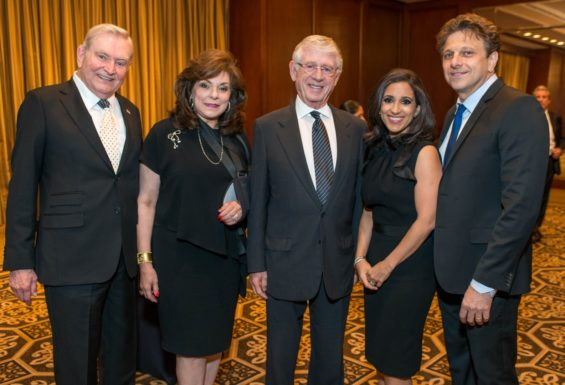 Sell Out 2015 Crime Stoppers of Houston Gala with High Power Media Tycoons like Ted Koppel leaves Dave Ward Speechless