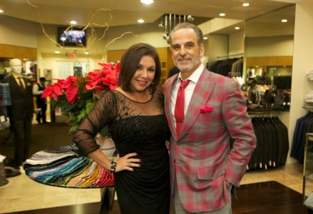 Jewels, baubles, handsome men and plenty of holiday spirit at the Annual Festari Holiday Party