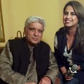 Javed Akhtar and Ruchi Mukherjee