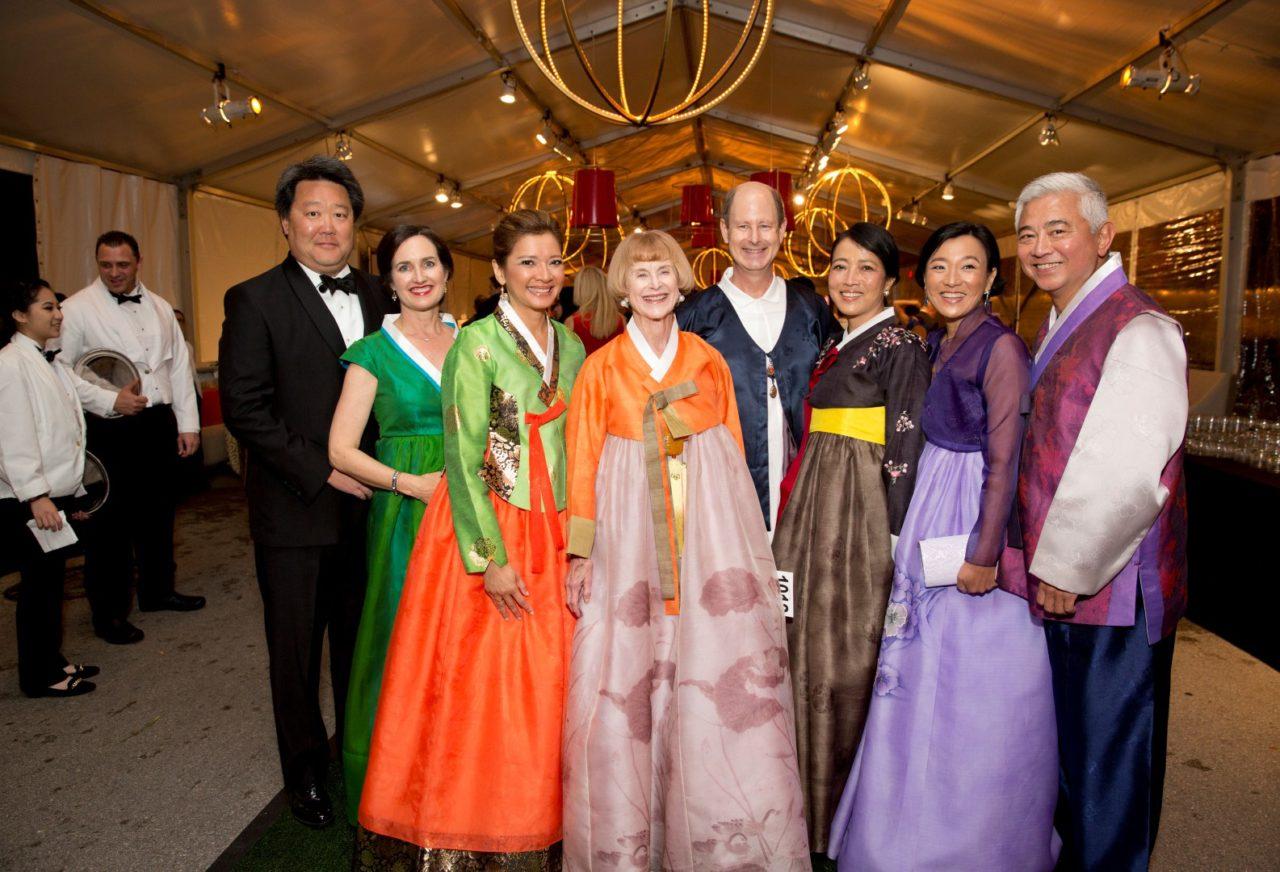 Tiger Ball Wows Houston's Diverse Crowd with Korean Fashion Fair