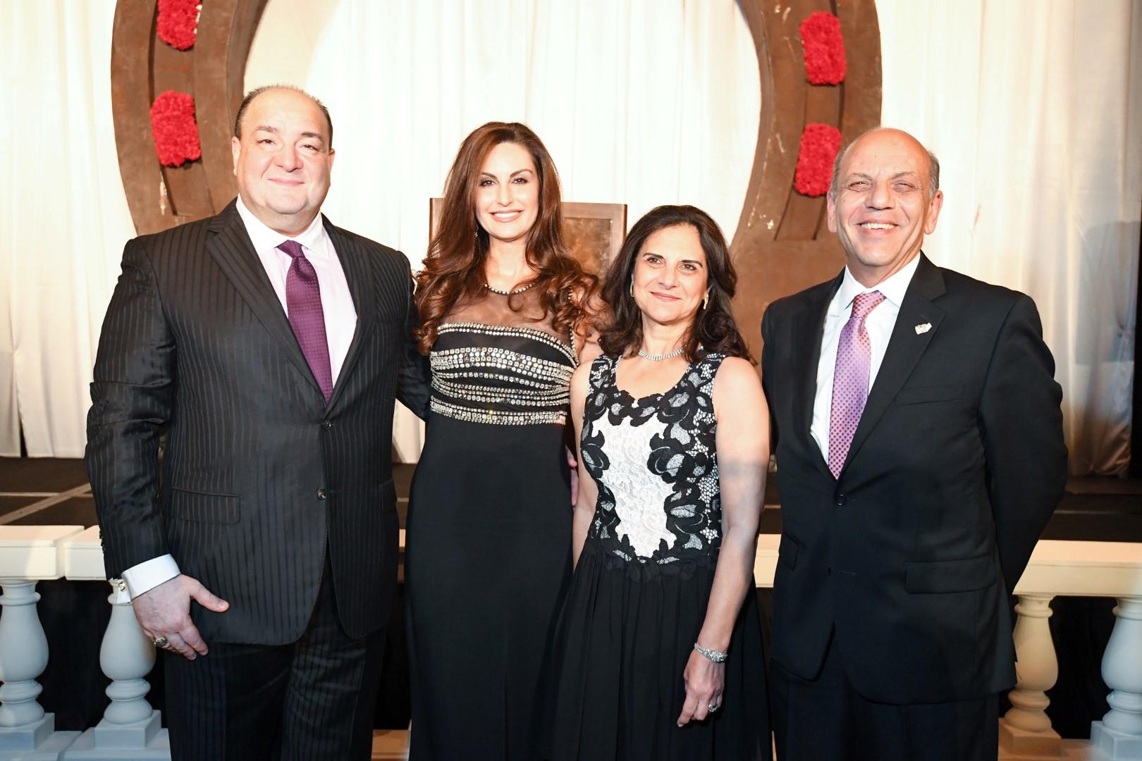 Bashar and Brigitte Kalai, Drs. Lillian and Osama Gaber