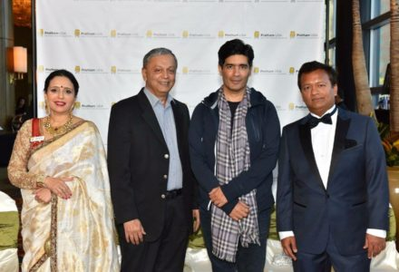 Bollywood Designer Adorns Pratham Gala