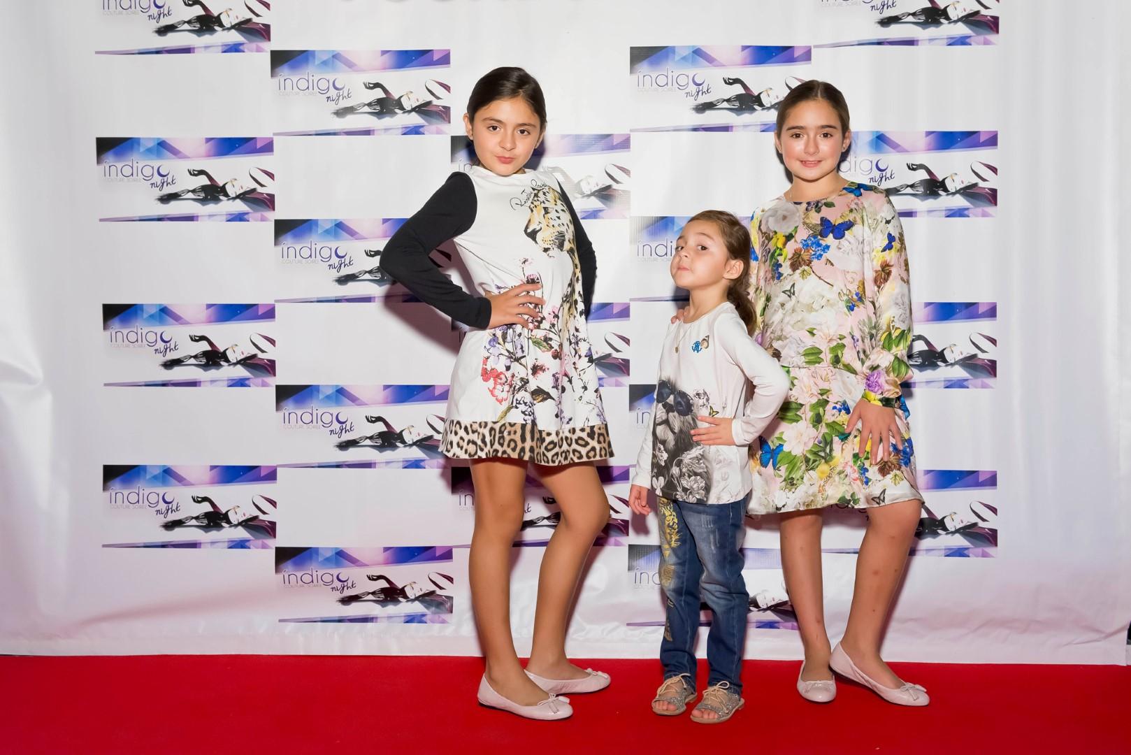 Macarena, Natalia and Carmina Chavez-Zamorano