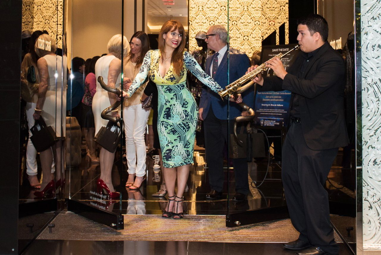 Noche de las Americas Kick-off In Style at the Roberto Cavalli Boutique