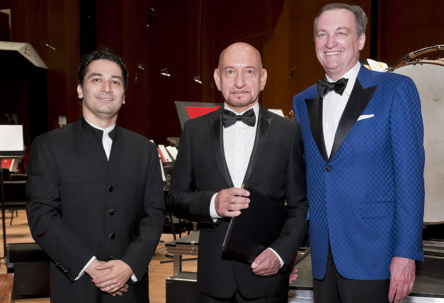 Houston Symphony Ball Opening Night Enthralls Sir Ben Kingsley
