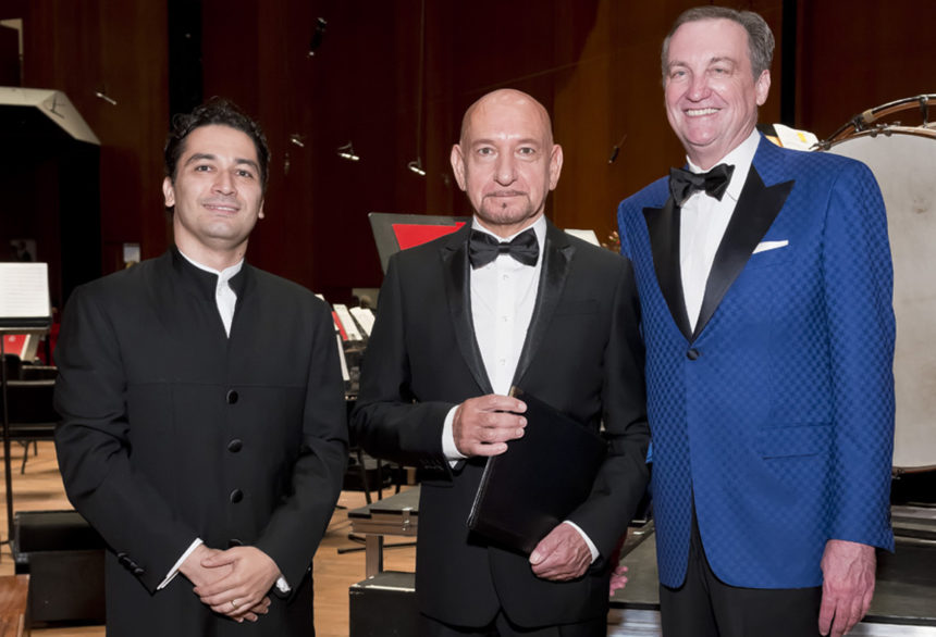 Houston Symphony Ball Opening Night Enthralls Sir Ben Kingsley