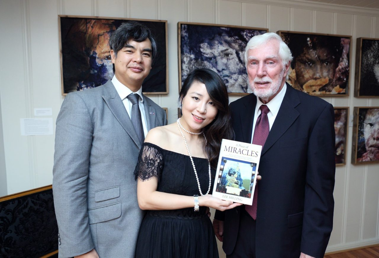 "Consul General Of France Hosts ""A Place of Miracles"""