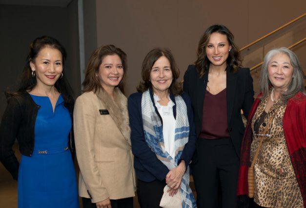Asia Society Texas Center Hosts Mina Chang at the Women's Leadership Series