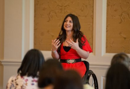 No Limitations at the Friends and Family Children's Museum Luncheon with Jen Bricker