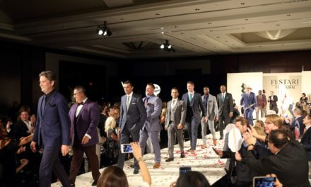 Handsome Festari Men Walk The Runway For Houston Area Women's Center